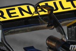 La FIA vigila de cerca el sistema de soplado del alerón trasero de Renault