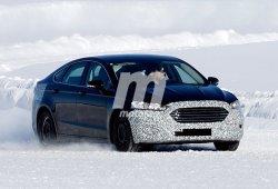 El nuevo Ford Mondeo 2019 se enfrenta a la nieve en el norte de Europa