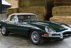 Impecable Jaguar E-Type 4.2 recién restaurado a la venta