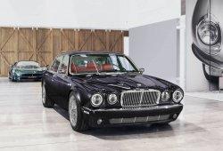 El espectacular Jaguar XJ6 restomod del batería de Iron Maiden