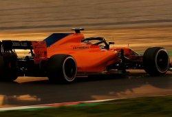 McLaren consigue completar su programa de pruebas en el penúltimo día en el Circuit