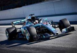 Mercedes confía en que los neumáticos blandos no sean su debilidad este 2018
