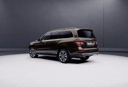 Mercedes-Maybach presentará un nuevo concepto adelantando un SUV de lujo en el Salón de Pekín