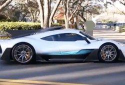 El superdeportivo Mercedes-AMG Project One, grabado en vídeo en Estados Unidos