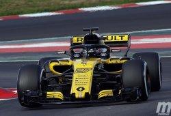 """Hülkenberg, encantado con el Renault RS.18: """"Es 100 veces mejor que el de 2017"""""""