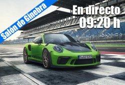 En directo: las novedades de Porsche desde Ginebra 2018