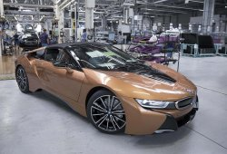 La producción del BMW i8 Roadster se inicia en Leipzig