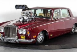 Abominación extrema: Rolls-Royce Silver Shadow V8 Drag Car