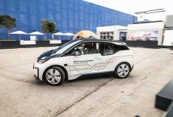 Probamos el BMW i3 con conducción autónoma de nivel 5 en el MWC 2018