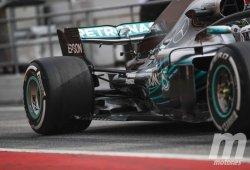 Según Allison, los pontones del Mercedes W09 otorgan 0,250 segundos de ganancia