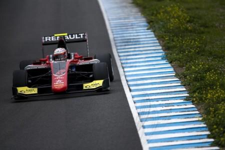 Anthoine Hubert se mantiene al frente en el primer test de Jerez