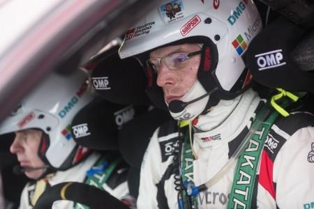 El Toyota Yaris WRC mide su progresión en México