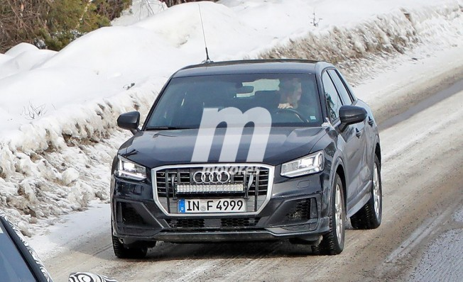 Audi SQ2 2019 - foto espía
