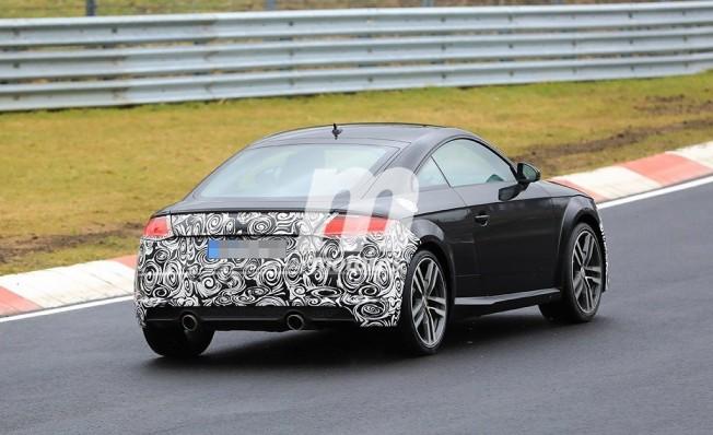 Audi TT Coupé 2019 - foto espía posterior