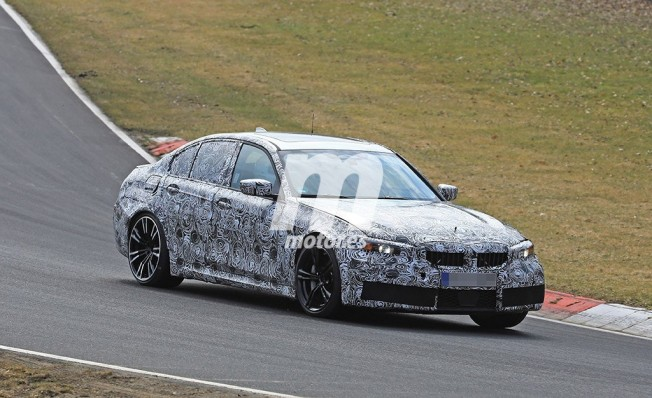 BMW M3 2019 - foto espía