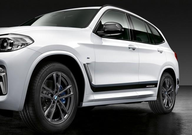 BMW X3 2018 con accesorios M Performance