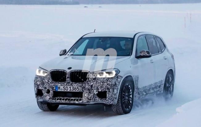 BMW X3 M 2018 - foto espía