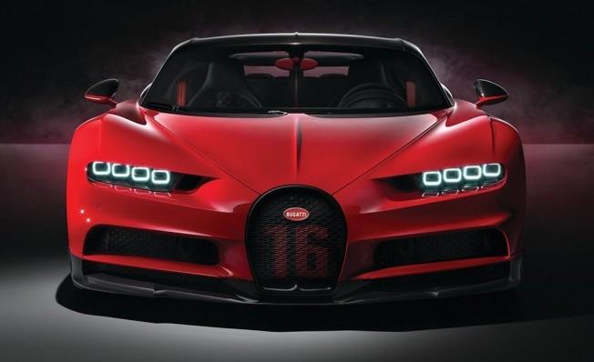 Bugatti Chiron Sport - frontal