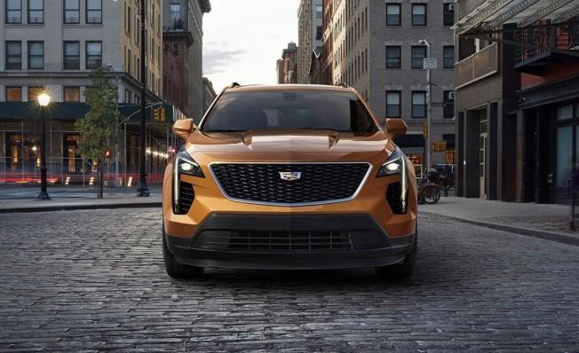 Cadillac XT4 2019 - frontal