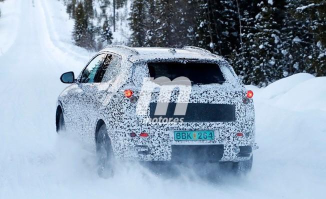 Chevrolet Trax 2019 - foto espía posterior