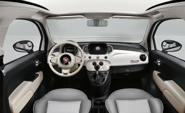 Fiat 500 Collezione - interior