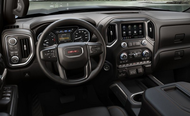 GMC Sierra AT4 2019 - interior