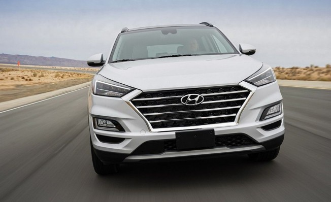 Hyundai Tucson 2018 - frontal
