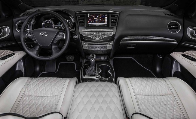 Infiniti QX60 Limited - interior
