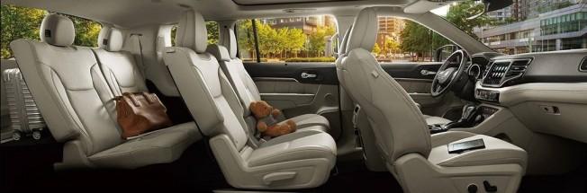Jeep Grand Commander - interior
