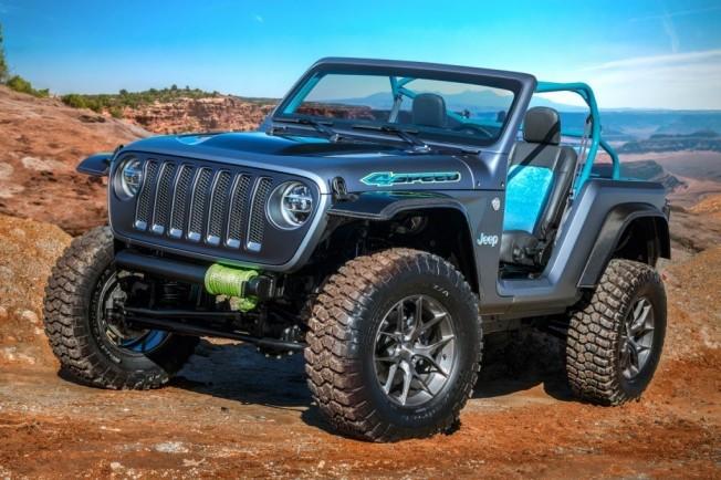 Jeep Y Mopar Presentan Siete Conceptos Especiales Sobre El