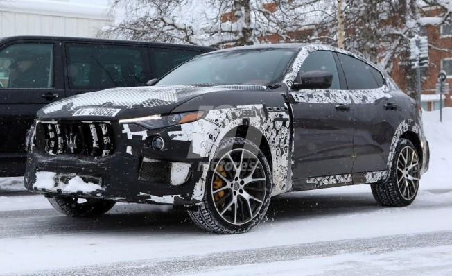 Maserati Levante GTS - foto espía