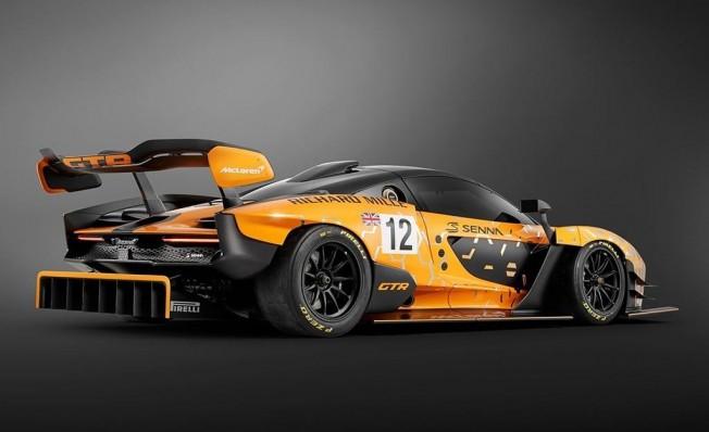 McLaren Senna GTR Concept - posterior