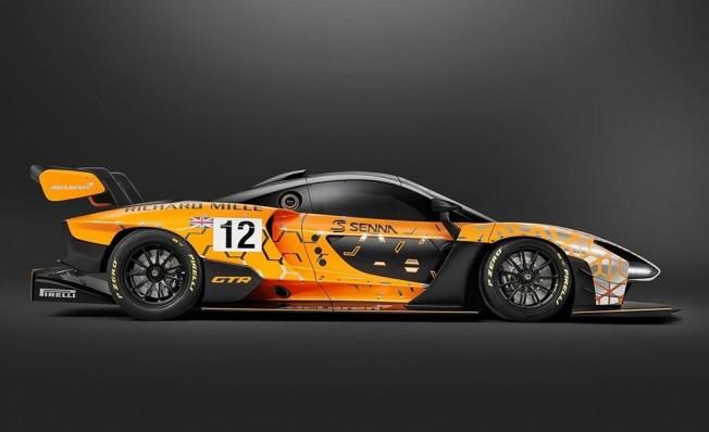 McLaren Senna GTR Concept - lateral