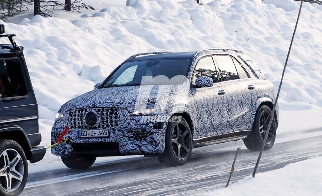 Mercedes-AMG GLE 63 2019 - foto espía