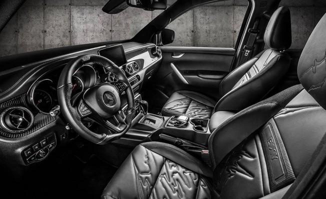 Mercedes Clase X preparado por Carlex Design