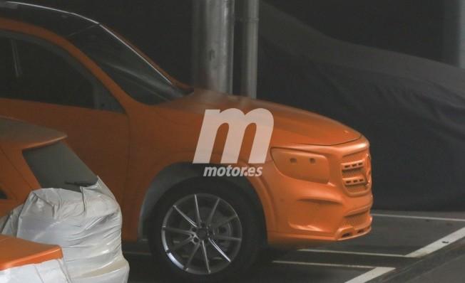 Mercedes Clase GLB - foto espía