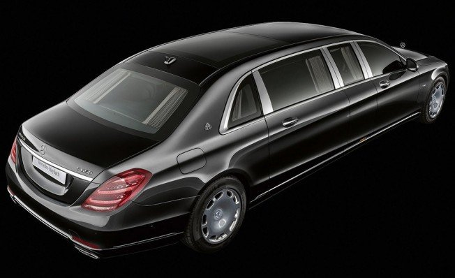 Mercedes-Maybach S 650 Pullman 2018