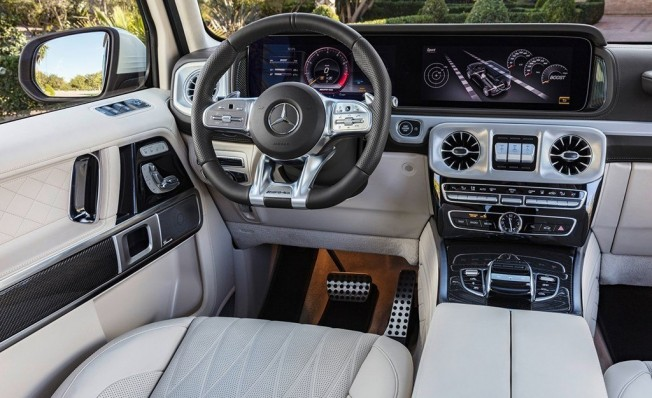 Mercedes-AMG G 63 2018 - interior