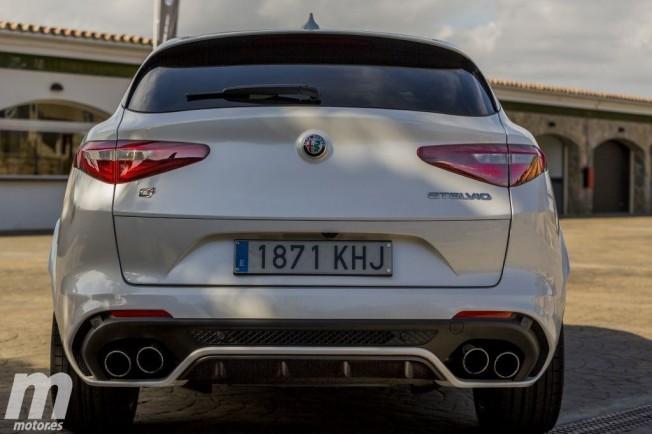 Alfa Romeo Stelvio Quadrifoglio Verde - posterior