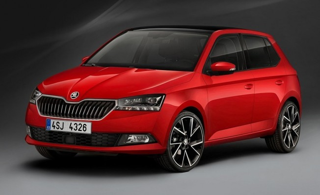 skoda fabia 2018 el utilitario checo se vuelve m s refinado y tecnol gico. Black Bedroom Furniture Sets. Home Design Ideas