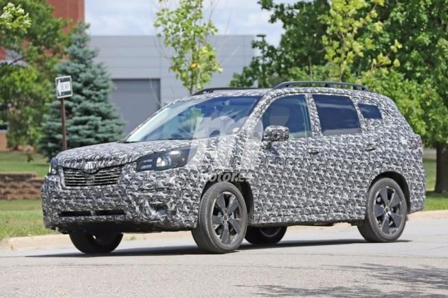 Subaru Forester 2019 - foto espía