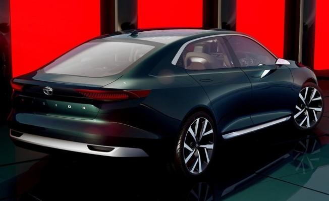 Tata EVision Concept - posterior