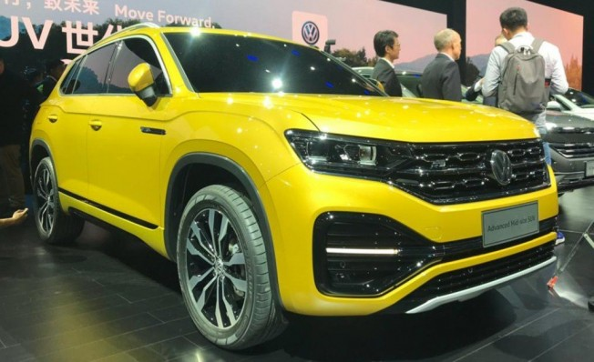 Volkswagen Advanced Mid-Size SUV