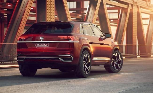 Volkswagen Atlas Cross Sport Concept - posterior