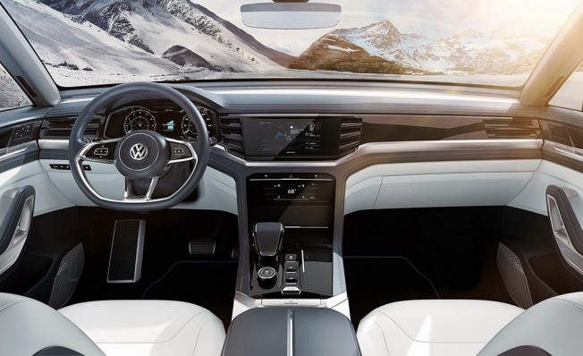 Volkswagen Atlas Cross Sport Concept - interior