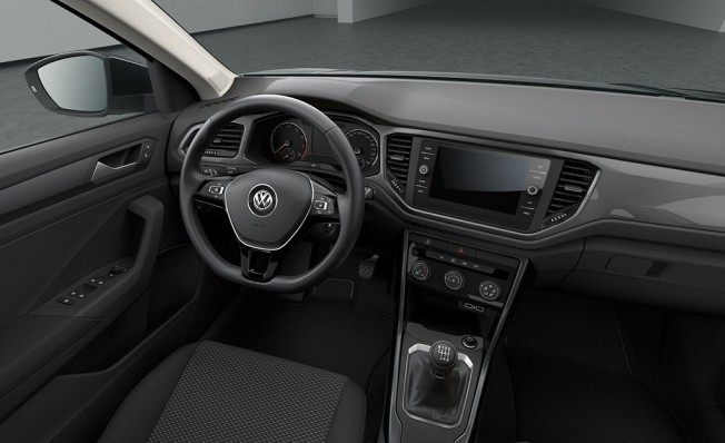 Volkswagen T-Roc Edition - interior