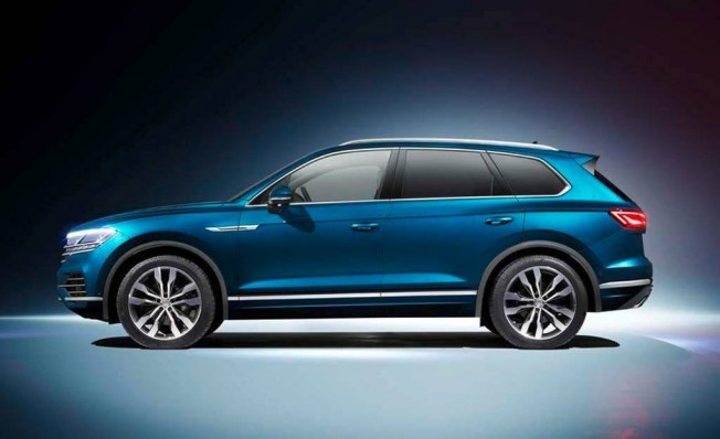 Volkswagen Touareg 2018 - lateral