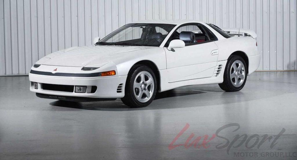 Aparece un Mitsubishi 3000 GT de 1991 casi nuevo a la venta