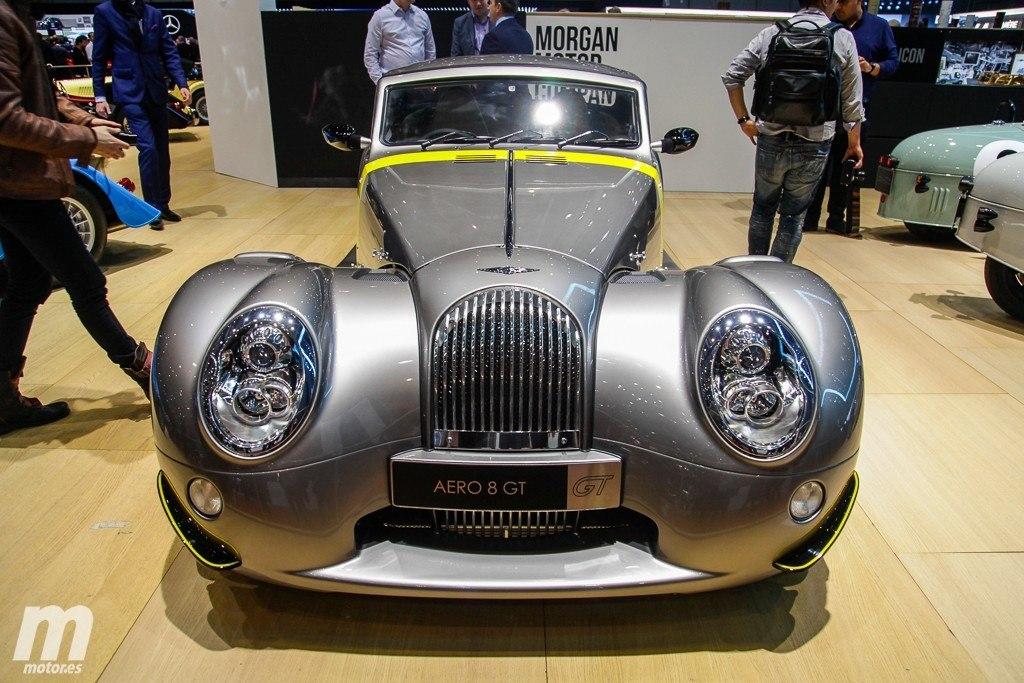 Morgan Aero GT, la versión más agresiva y radical de Morgan debuta en el Salón de Ginebra 2018