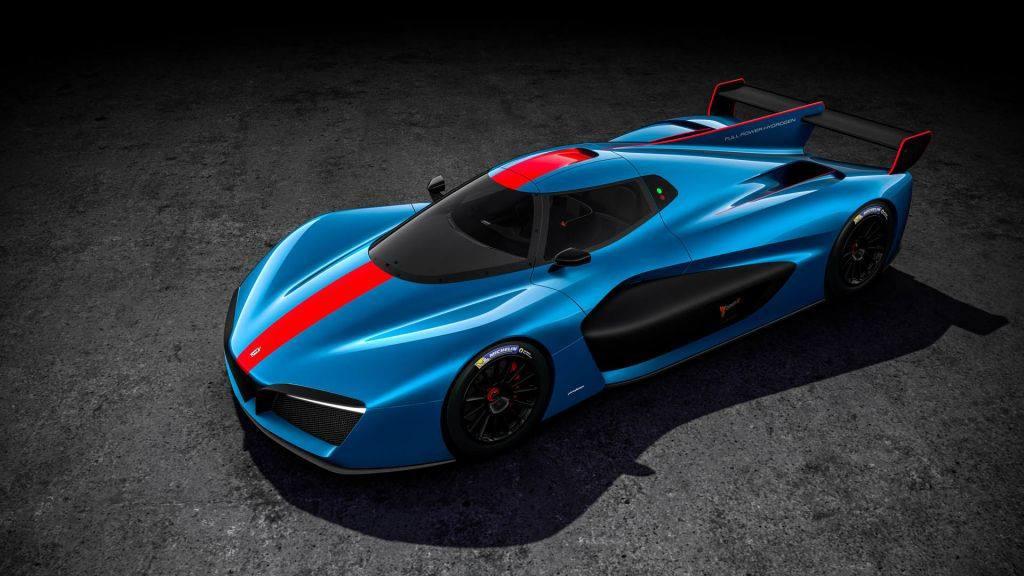 El Pininfarina H2 Speed de producción se desvela en Ginebra 2018